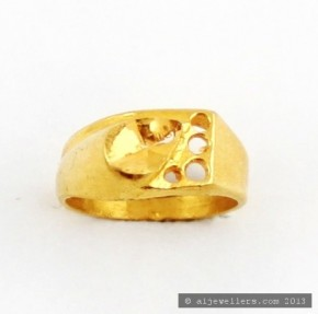 22ct Real Gold Asian/Indian/Pakistani Style Baby Ring
