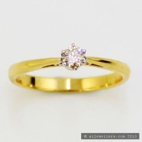 0.23ct Diamond Ring
