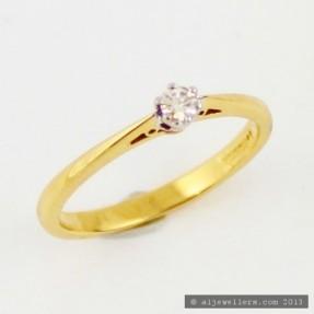 0.19ct Diamond Ring