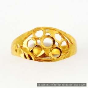 22ct Real Gold Asian/Indian/Pakistani Style Kid's Ring