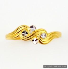 22ct Indian Gold Girls Ring