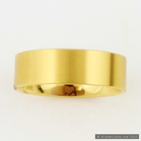 18ct Gold Wedding Band
