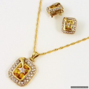 Shooting Star Pendant Set (Pre-Owned)
