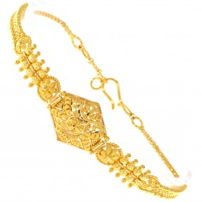 22ct Indian/Asian Gold Filigree Bracelet
