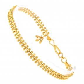 22ct Indian/Asian Gold Charm Bracelet