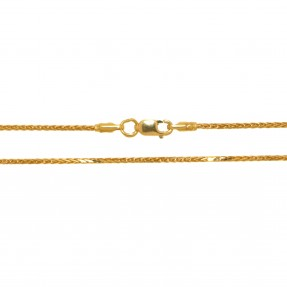 22ct Indian/Asian Gold Spiga Chain