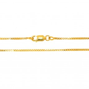 22ct Indian/Asian Gold Box Chain