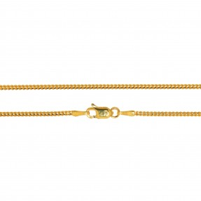 22ct Indian/Asian Gold Franco Chain