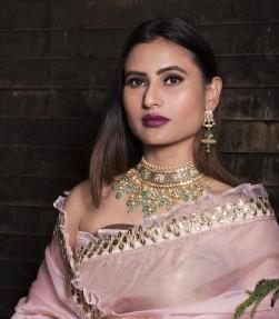 Indian/Asian Kundan Necklace Set