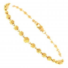 22ct Indian/Asian Gold Beads Bracelet