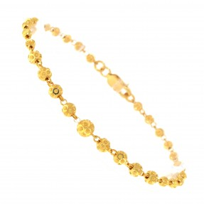 22ct Real Gold Asian/Indian/Pakistani Style Beads Bracelet