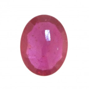 8.2ct Oval Ruby