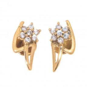 Indian/Asian Diamond  Stud Earrings (Pre-Owned)