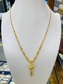 22ct Real Gold Asian/Indian/Pakistani Style Filigree Necklace/Mala
