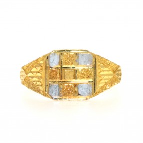 Indian/Asian Two Colour Ring (Pre-Owned)