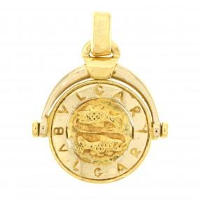 English Zodiac Pisces Designer Pendant (Pre-Owned)