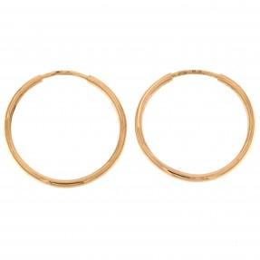 English Hoop Earrings (Pre-Owned)