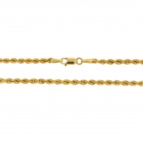 English Hollow Rope Chain (Pre-Owned)