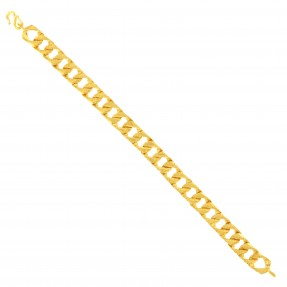 22ct Real Gold Asian/Indian/Pakistani Style Two Sided Bracelet